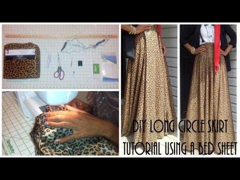 nadira037-|-diy|-long-circle-skirt-tutorial-part-1-|-using-a-bed-sheet