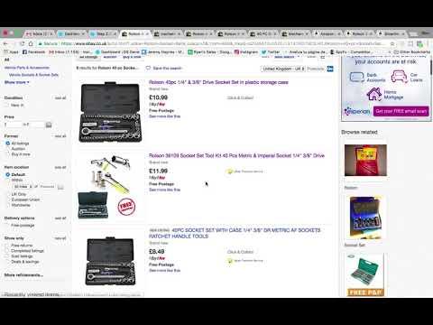 eBay UK Drop Shipping Journey | Listing items to drop ship on eBay UK & finding an item w 30% Margin