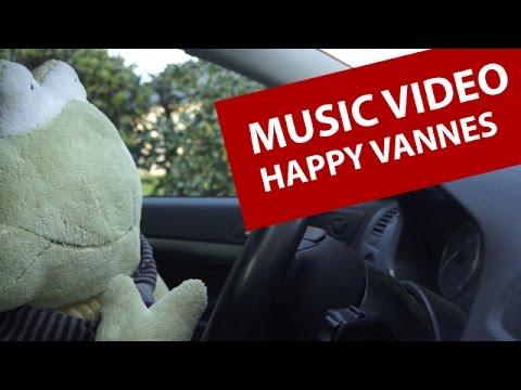 MUSIC VIDEO CLIP - Happy Vannes - Vidéo inspirée par Pharrell Williams - Tournage à Vannes (56)