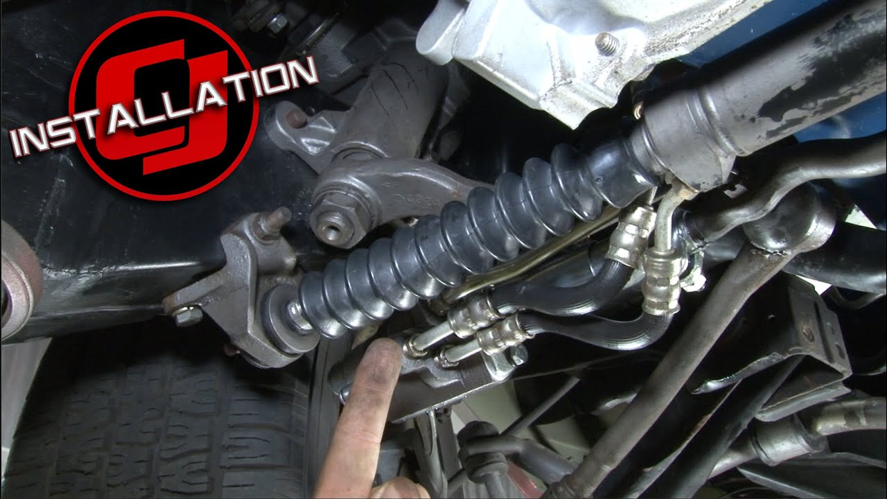 small resolution of mustang power steering slave cylinder boot kit 1965 1970 installation