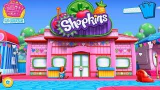 Shopkins Welcome to Shopville Шопкинс добро пожаловать в Шопвиль игровой мультфильм Best Kids Apps