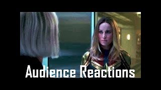 Audience Reactions - Captain Marvel Post Credit Scene - Captain Marvel (Avengers End Game)