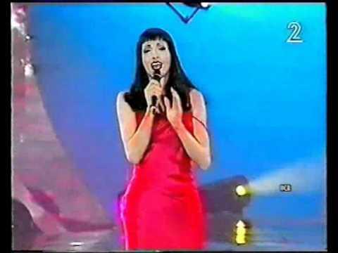 Dana International  Diva Displaying first time in Miss Israel 1998