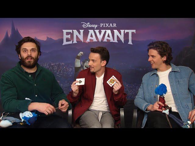 EN AVANT | Disney Pixar - Léo Brière rend fou les voix françaises du film !