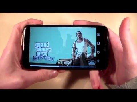 Игры LG K10 (GTA:SanAndreas, Asphalt8, ModernCombat5)