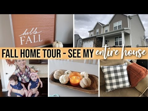 *NEW! HOUSE TOUR 2019 🏡🍁 FALL HOME TOUR | COME SEE MY ENTIRE HOUSE! | FALL DECORATING IDEAS