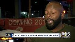 Building boom in downtown Phoenix