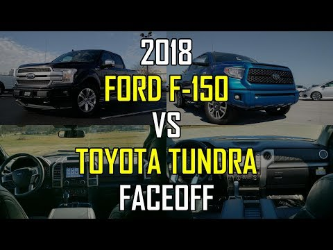 2018 Ford F-150 Platinum vs. 2018 Toyota Tundra Platinum: Faceoff Comparison