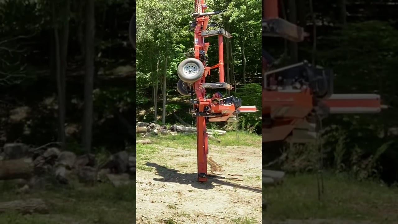 A Flying Sawmill #shorts