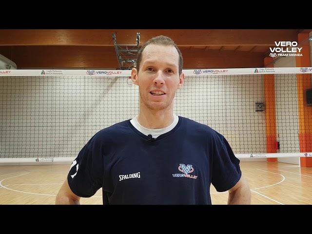 Tine Urnaut sul periodo alla Vero Volley Monza