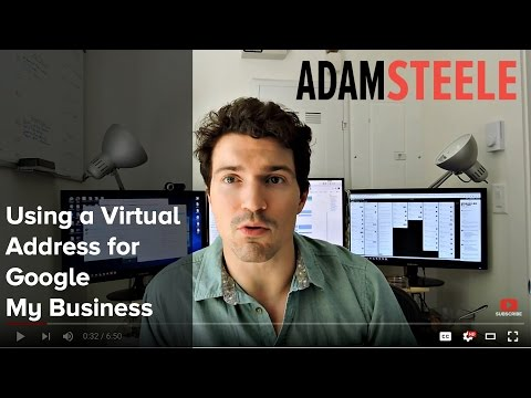 Using a Virtual Address for Google My Business