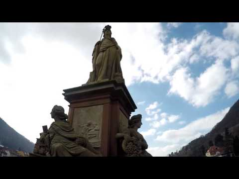 The trip to Heildelberg with International Students_DHBW Karlsruhe 2016