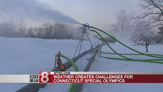 Weather creates challenges for Connecticut Special Olympics
