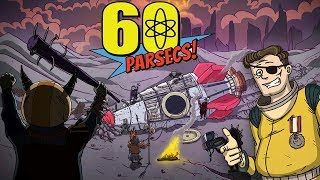 I SURVIVED OVER 100 PAINFUL DAYS TO GET THIS RARE ENDING | 60 Parsecs Game (New Ending)