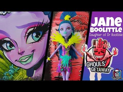 Jane Boolittle Ghouls Getaway Monster High