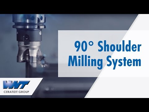 Double-sided 90° shoulder milling system MaxiMill 491 from WNT