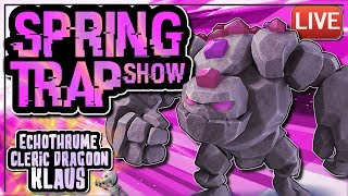 QUITTING CLASH, LALOON ATTACKING, KLAUS ON TOOTHPASTE   SPRING TRAP SHOW ep 8   Clash of Clans