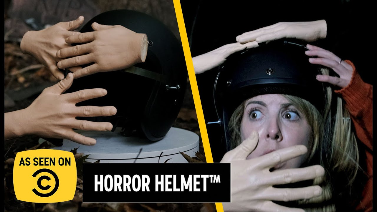 This Halloween's Must-Have - The Horror Helmet™