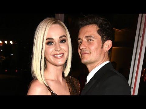Katy Perry & Orlando Bloom GET COZY During Ed Sheeran Show