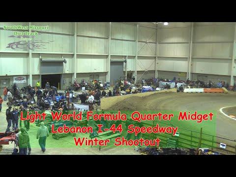 Light World Formula Quarter Midget - I-44 Speedway Winter Shootout 1-19-2018