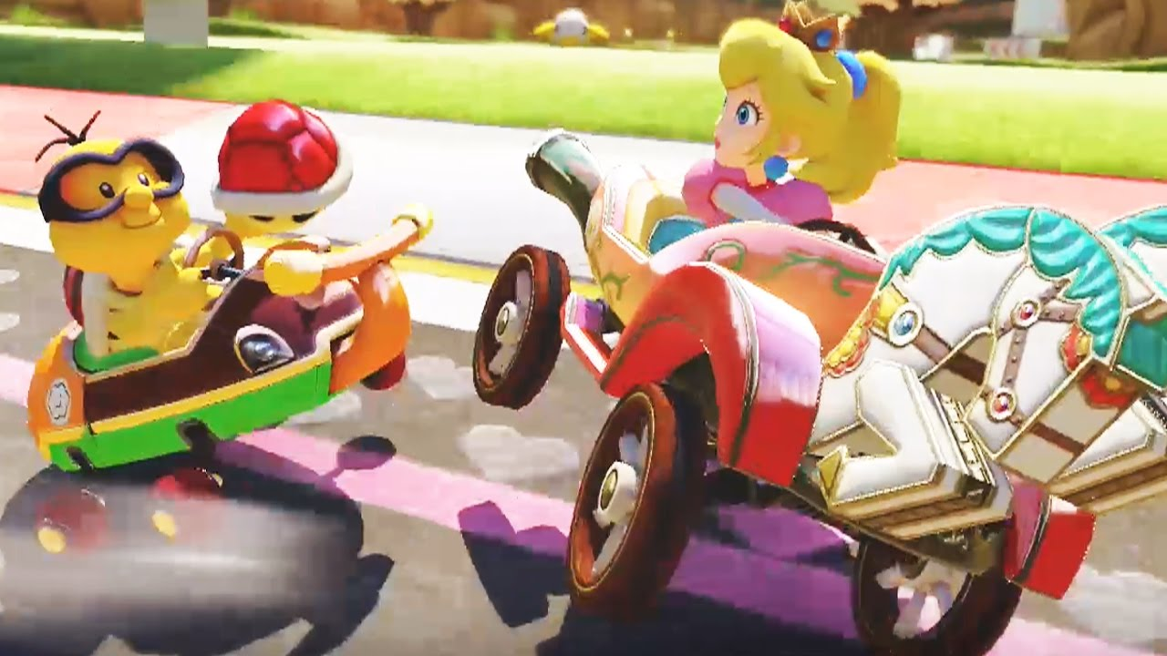 mario kart 8 deluxe 200cc banana cup grand prix lakitu gameplay youtube. Black Bedroom Furniture Sets. Home Design Ideas