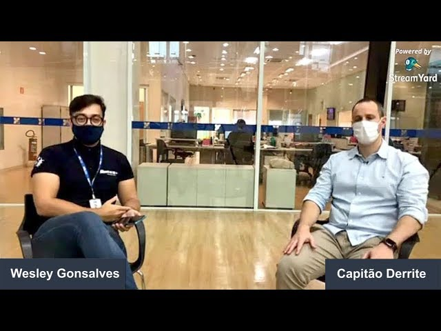 Entrevista com Deputado Federal Capitão Derrite