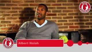 KeinTagOhneFUSSBALL-Reportage über 3Ecken1Elfer und Albert Nsiah