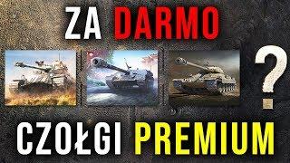 CZOŁGI PREMIUM ZA DARMO NA 7 DNI - World of Tanks