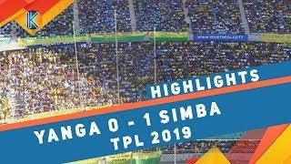 YANGA 0 - 1 SIMBA | TPL | HIGHLIGHTS