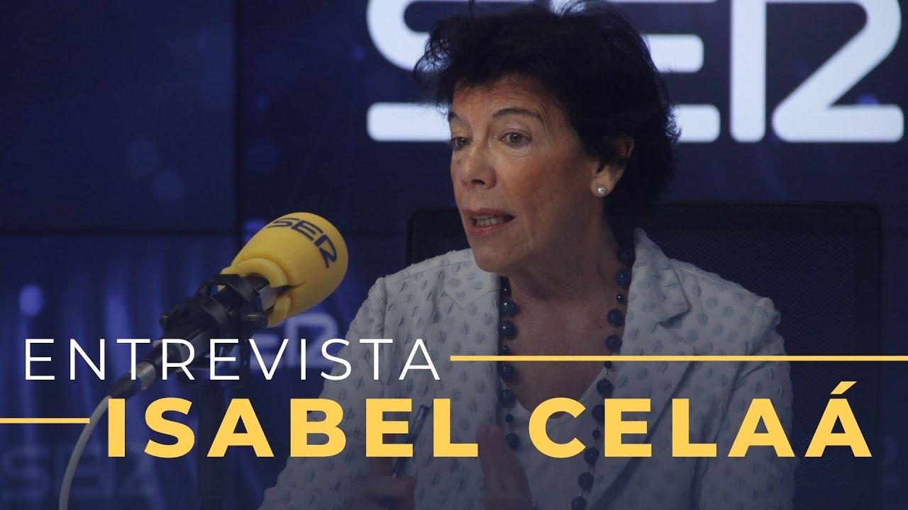 Entrevista a Isabel Celaá en Hoy por Hoy (30-07-2020)