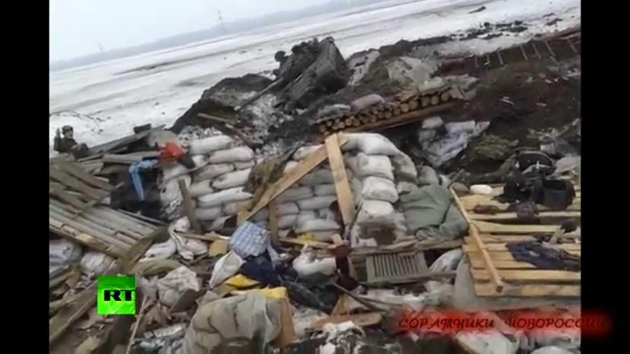 Ополченцы распространили видео со своих позиций в Углегорске