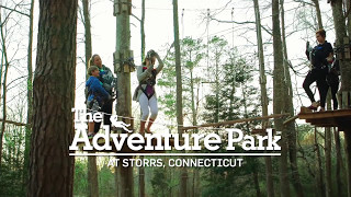 The Adventure Park at Storrs Climbing & Ziplining!