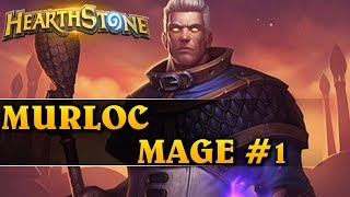 JEST TOP 1000! - MURLOC MAGE #1 - Hearthstone Decks std