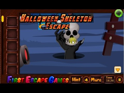Halloween Skeleton Escape First Escape Games Youtube