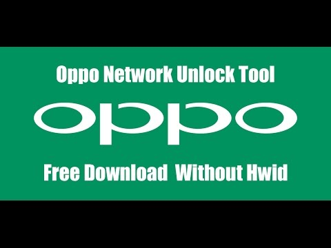 Oppo Network Country Unlock Tool Free Without Hwid Tool By( GSM SOLUTION)