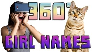 How to Name Your Female Cat (360 Video)