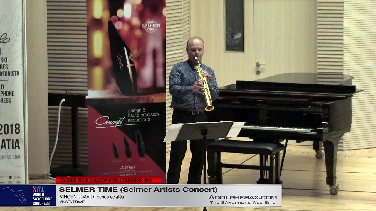 Échos éclatés by Vincent David   PRISM Quartet   XVIII World Sax Congress 2018 #adolphesax