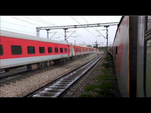 August Kranti Rajdhani Express || H.Nizamuddin - Mumbai Central