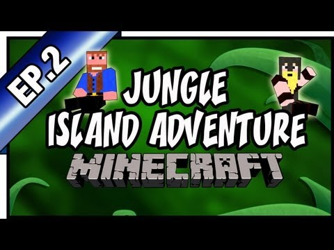 Minecraft: Jungle Island Adventure, Hardcore   Ep.2, Dumb and Dumber