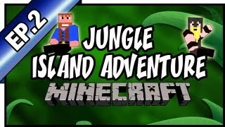 Minecraft: Jungle Island Adventure, Hardcore | Ep.2, Dumb and Dumber