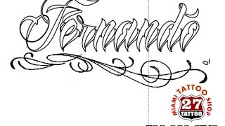 Diseño de un Nombre en Corel Draw