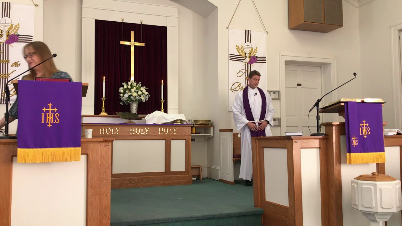 Boger Reformed Church Service, 4th Sunday in Lent; Holy Communion.