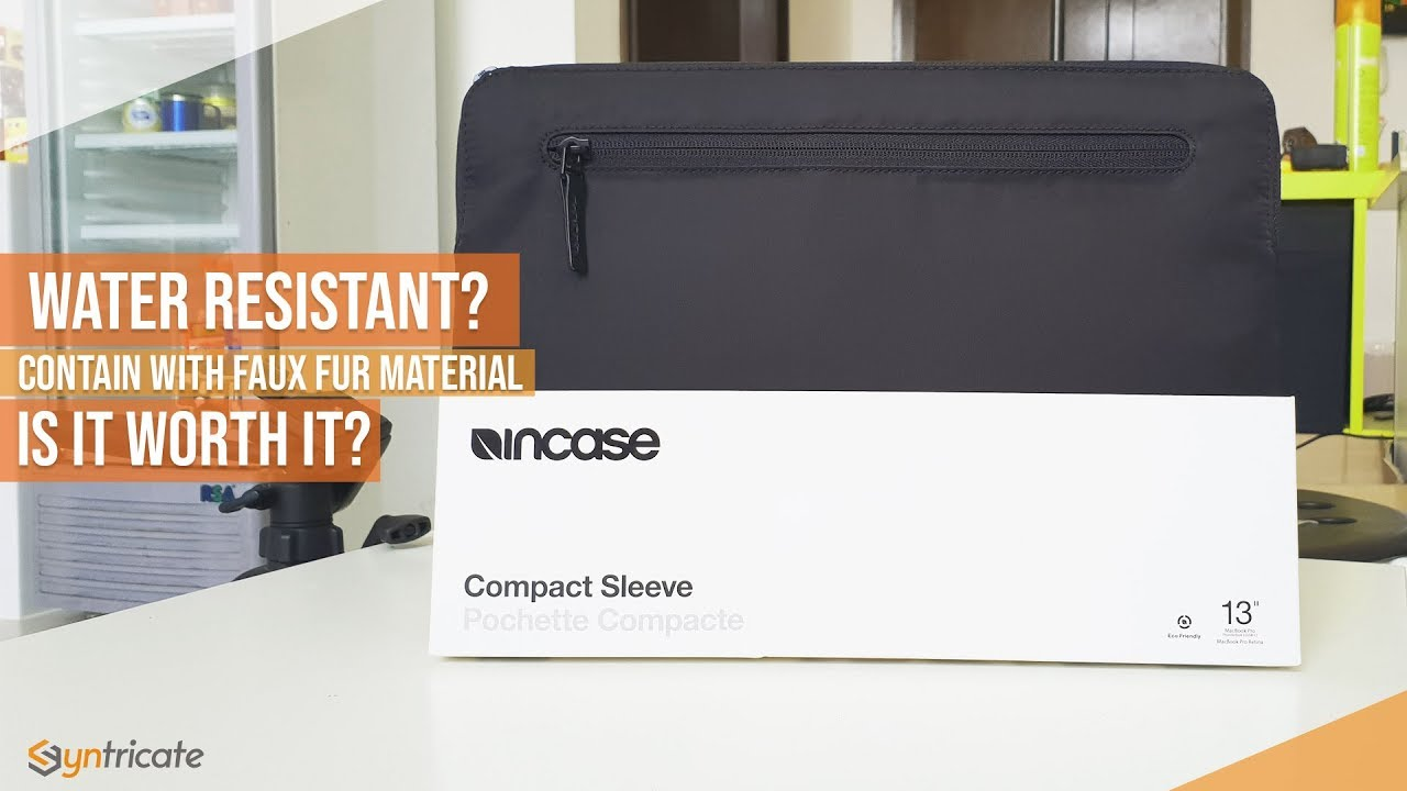 online store 53b39 b330e Compact Sleeve INCASE Review for Macbook Pro & Air