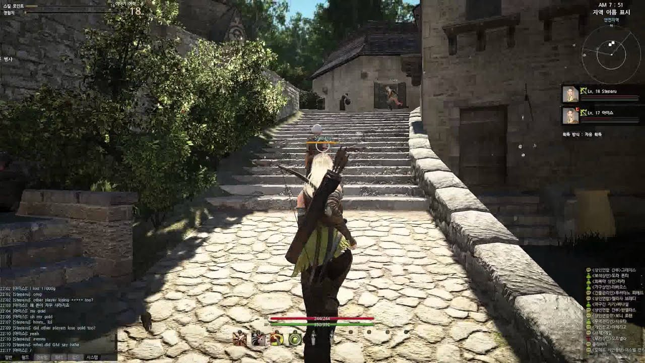 Black Desert Online CBT Town Housing System and Tour HD+ - YouTube