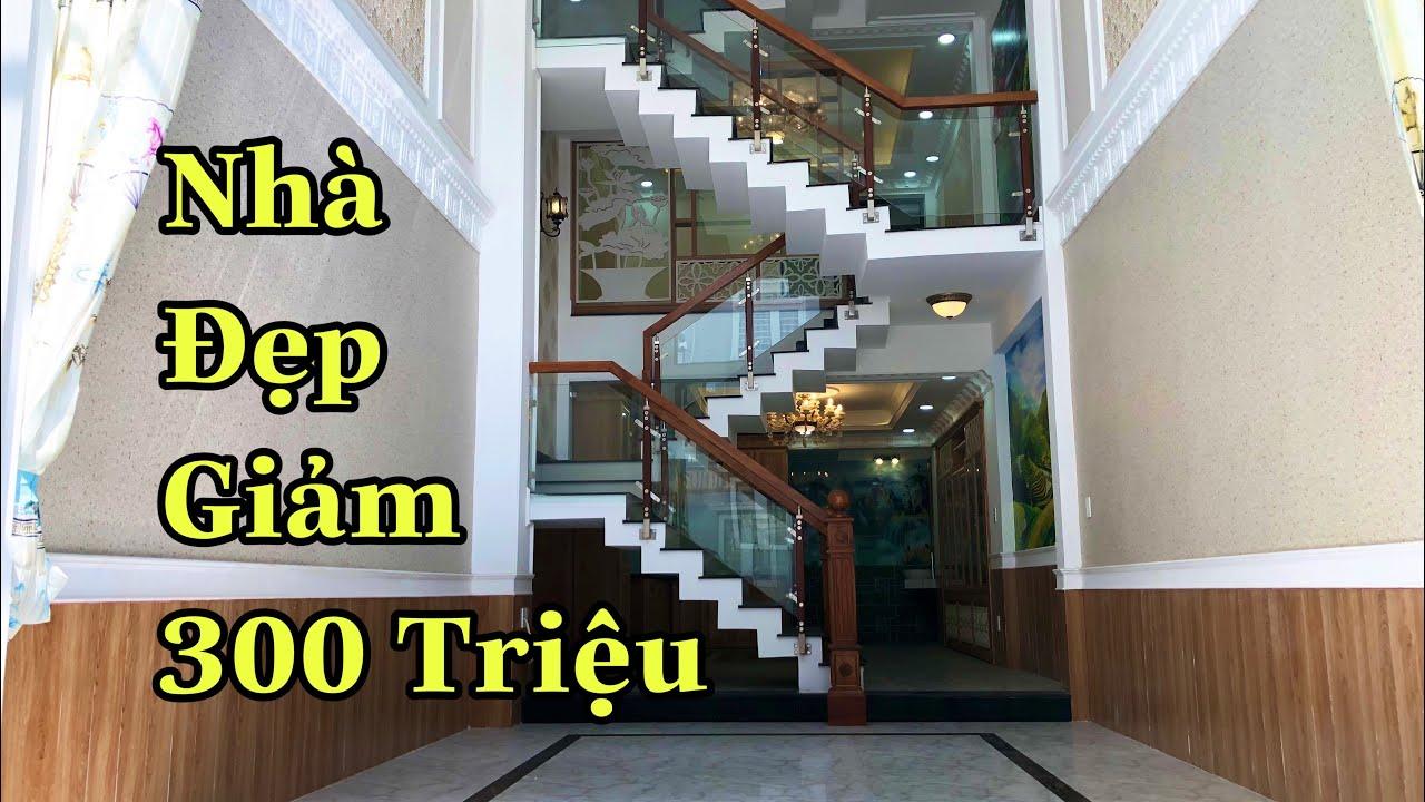Bán nhà gò vấp (83) Nhà Đẹp giá giảm 300 Triệu .4.2x17m 4 Lầu . Vị trí 1 xẹc Quá Đẹp