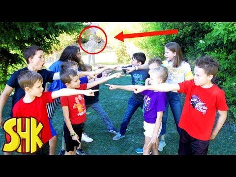 Kidz Squad Squabble! HeroForce vs The White Hat Game Master Nerf Battle Royale!