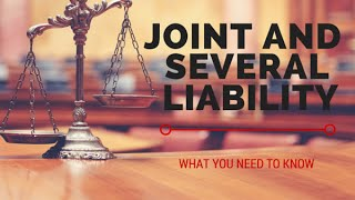 What is Joint and Several Liability?