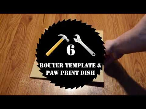 Woodworking || Make Your Own Router Templates + Tray Project