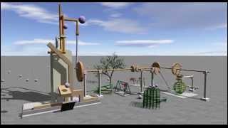 熱エネルギーを機械的エネルギーに変える仕組みを物理エンジンで作った【むにむに】 thumbnail