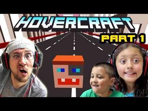 Thumbnail: Dad & Kids play HOVERCRAFT Part 1: The DUDDY Craft! Our 1st High Score! (FGTEEV FAMILY GAMEPLAY)